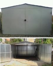 металлический гараж разборной