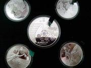 Набор коллекционных монет в честь Евро 2012