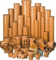 Трубы ПВХ и фитинги для наружной канализации Кировоград