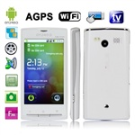 Элегантный китайский смартфон A8000 (белый)
