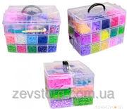 Набор 3 яруса шкатулка (2100 шт), наборы для плетения, станки для плетен